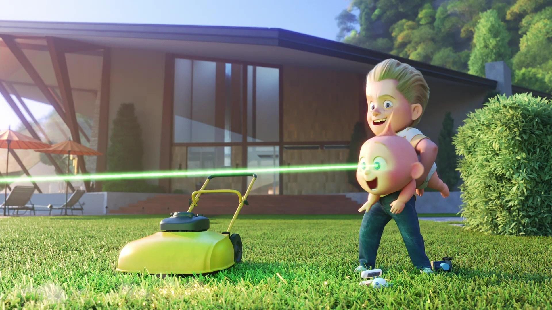 image chore day incredibles way incroyable ménage pixar popcorn disney
