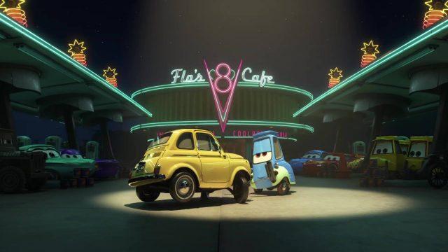 image dancing cars pixar popcorn disney