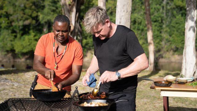 image gordon ramsey territoires inexplores uncharted disney nat geo