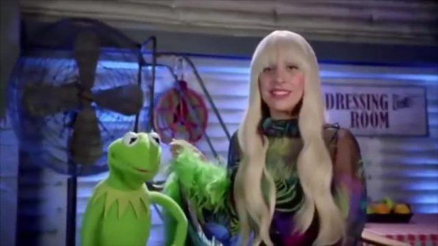 image lady gaga muppets holiday spectacular disney