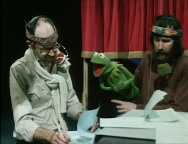 image muppets men making of show disney
