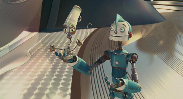 image robots disney blue sky