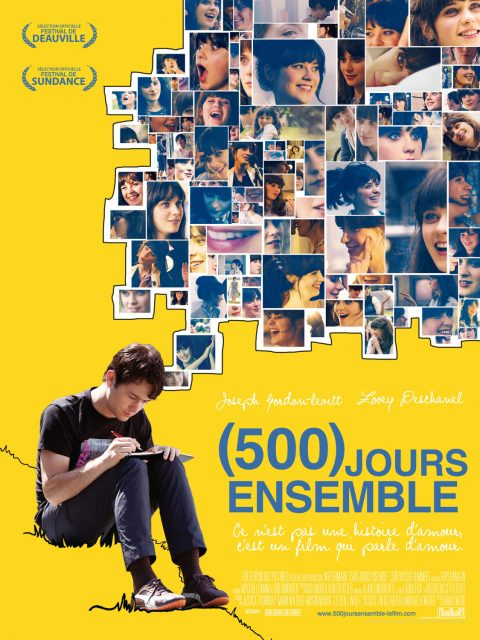 affiche poster 500 jours days ensemble summer disney