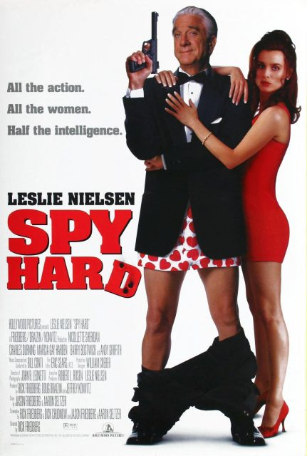 affiche poster agent zero spy hard disney hollywood