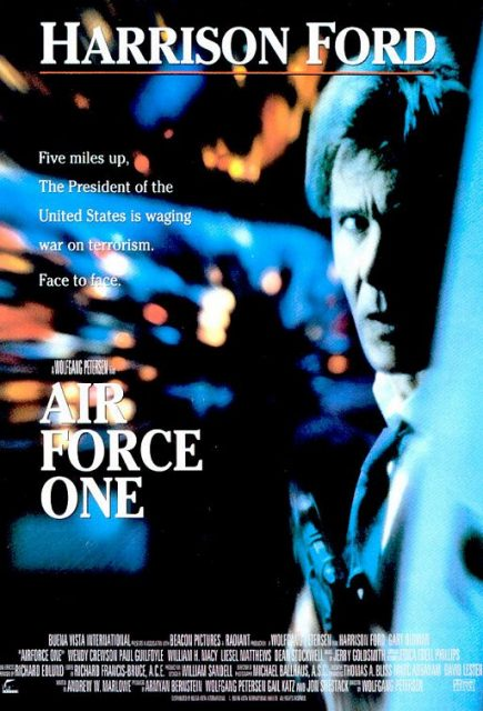 affiche poster air force one disney touchstone