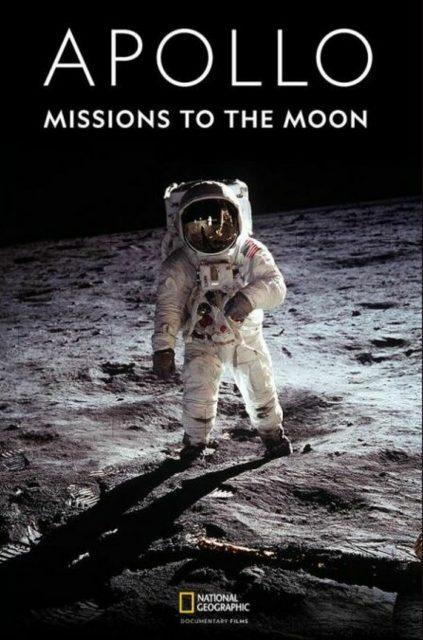 affiche poster apollo missions lune moon disney nat geo