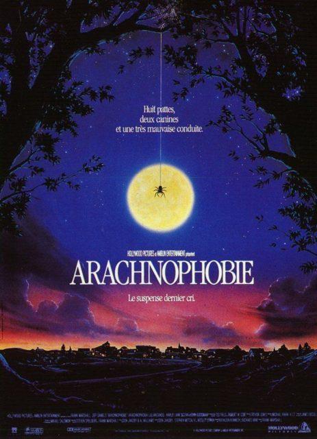 affiche poster arachnophobie disney