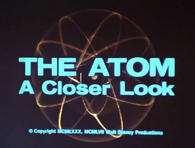 affiche poster atom closer llook disney