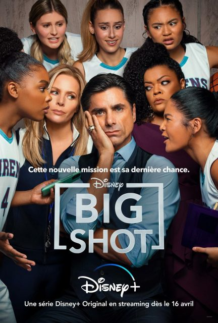 affiche poster big shot disney