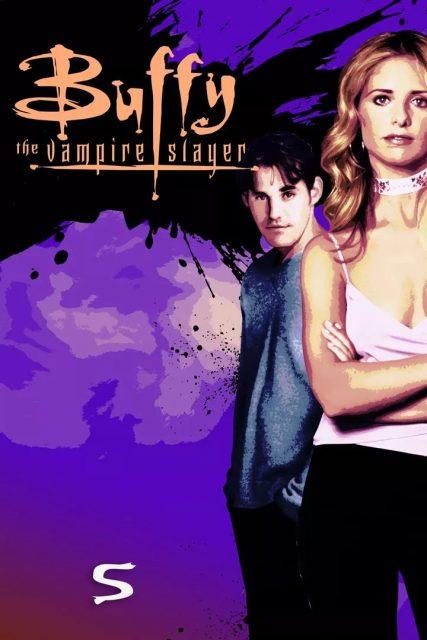 affiche poster buffy contre vampire slayer disney fox