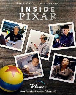 affiche poster coulisses inside pixar disney