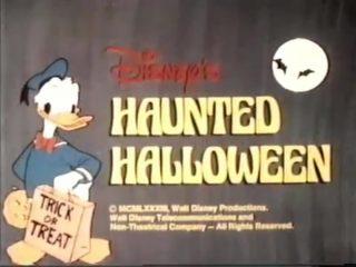 affiche poster disney haunted halloween