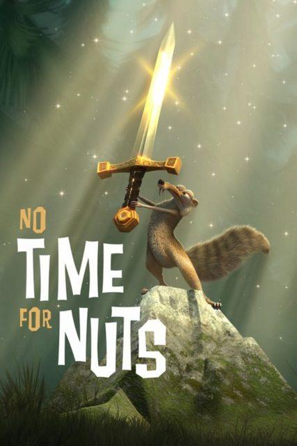 affiche poster etait noix time nuts disney blue sky