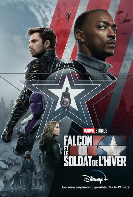affiche poster falcon winter soldier soldat hiver marvel disney