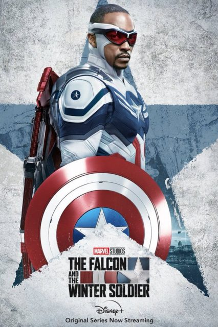 affiche poster soldat hiver falcon winter soldier disney marvel
