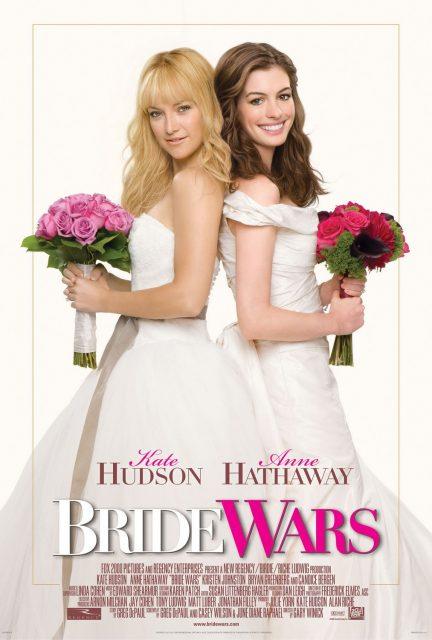 affiche poster meilleures ennemies bride wars disney fox