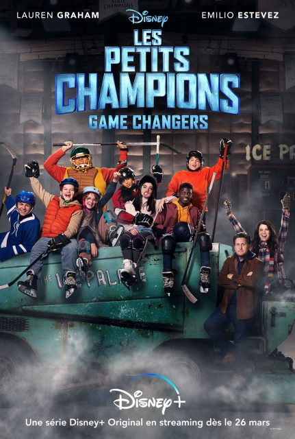 affiche poster petits champions game changers mighty ducks disney