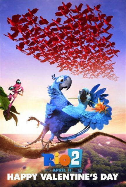 affiche poster rio 2 disney blue sky