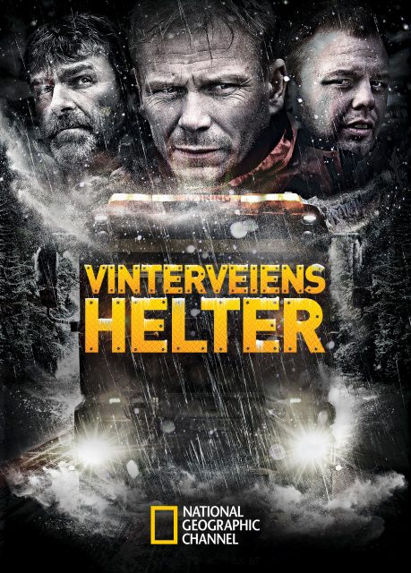 affiche poster route enfer norvège ice road rescue disney nat geo