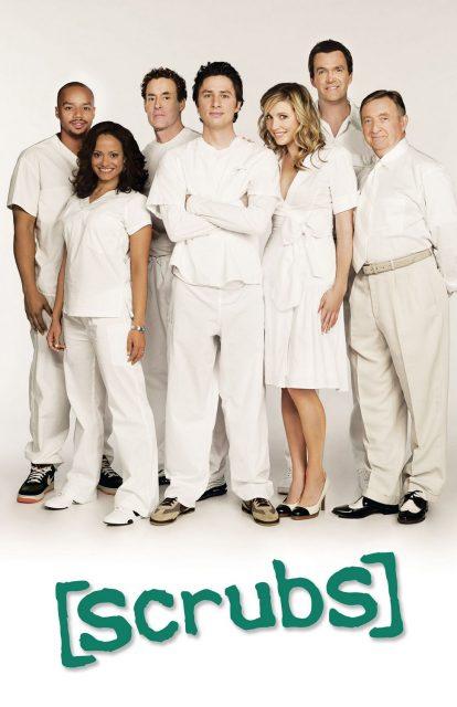 affiche poster scrubs abc disney