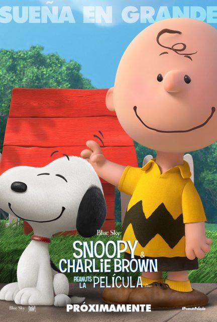 affiche poster snoopy peanuts film movie disney blue sky
