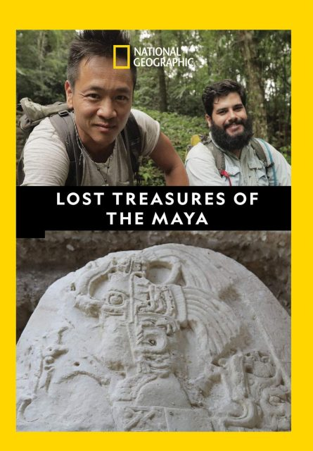 affiche poster tresors perdus lost treasures mayas disney nat geo