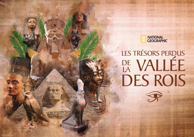 affiche poster tresors perdus vallee rois lost treasures disney nat geo
