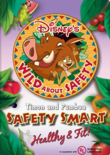 affiche poster wild safety smart timon pumbaa healthy fit disney