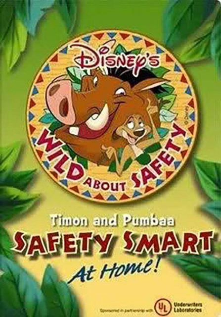 affiche poster wild safety timon pumbaa smart home disney