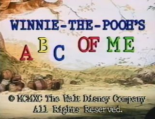 affiche poster winnie pooh abc disney