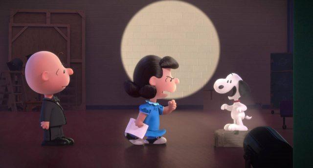 image snoopy peanuts film movie disney blue sky