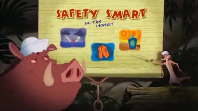 image wild safety smart timon pumbaa water disney