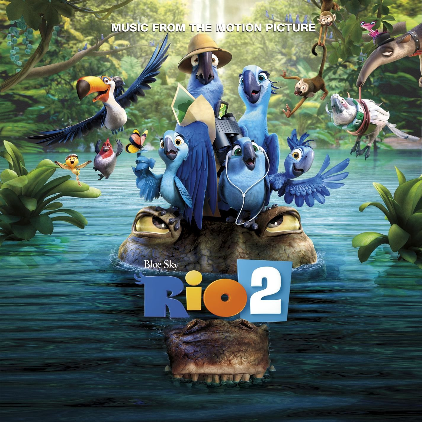 bande originale soundtrack ost score rio 2 disney blue sky