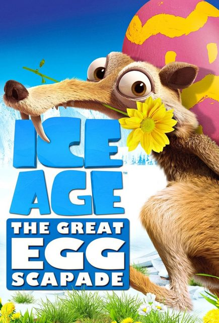 affiche poster age glace grande chasse oeufs ice age great egg scapade disney blue sky