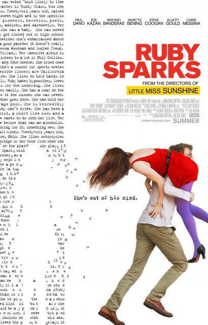 affiche poster appelle ruby sparks disney fox
