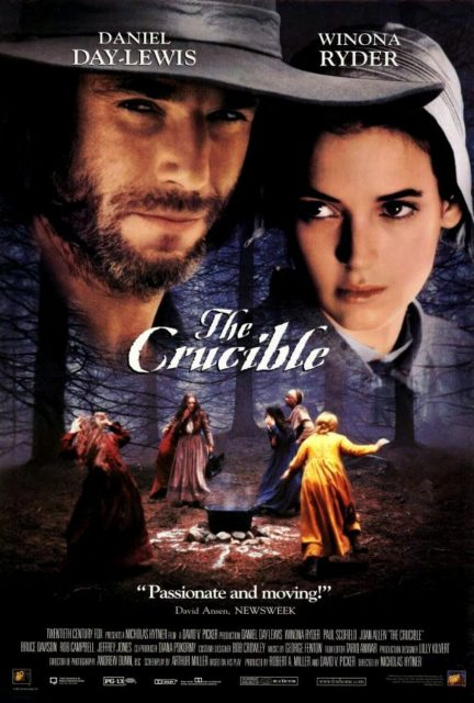 affiche poster chasse sorcieres crucible disney fox