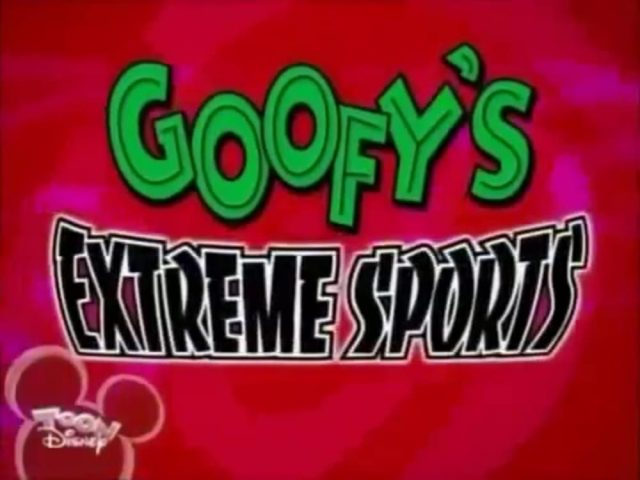 affiche poster dingolympic paracycle extrem sport disney