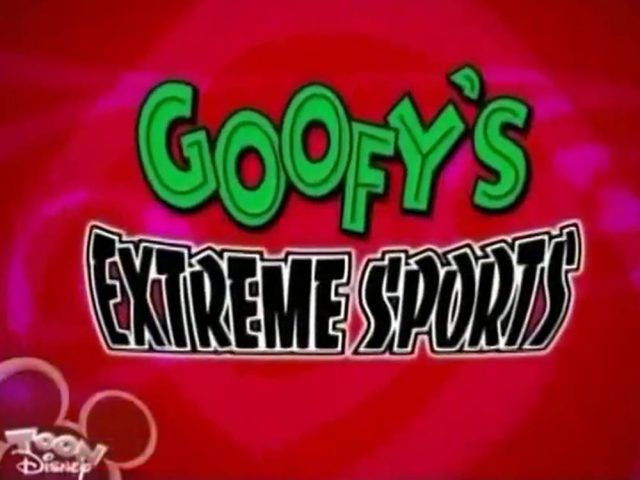 affiche poster dingolympic roller agressif rampe goofy extreme sports disney