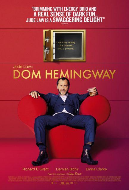 affiche poster dom hemingway disney fox