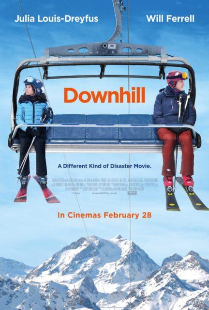 affiche poster downhill disney fox