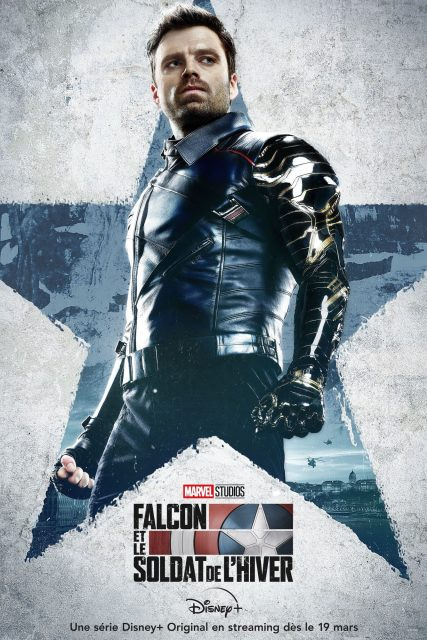 affiche poster falcon soldat soldier hiver winter disney marvel