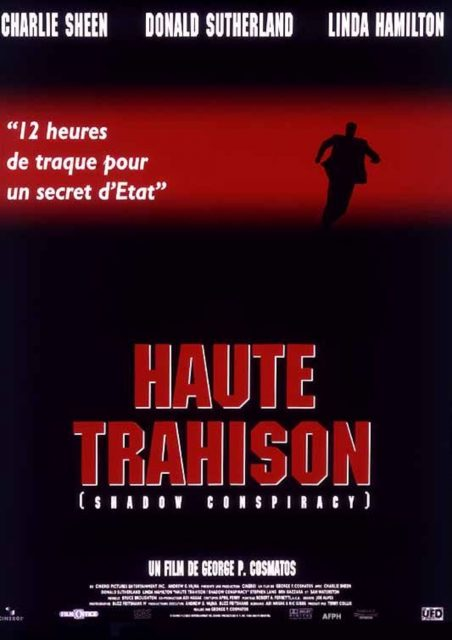affiche poster haute trahison shadow conspiracy disney hollywood