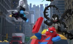 affiche poster lego marvel spider man vexed venom disney