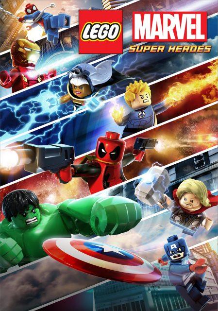 affiche poster lego marvel super-heroes maximum overload disney