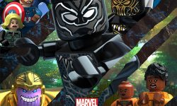 affiche poster lego marvel super heros black panther danger trouble wakanda disney