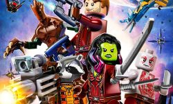 affiche poster lego marvel super heros guardians galaxy thanos threat disney