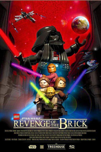 affiche poster lego star wars revenge brick disney lucasfilm