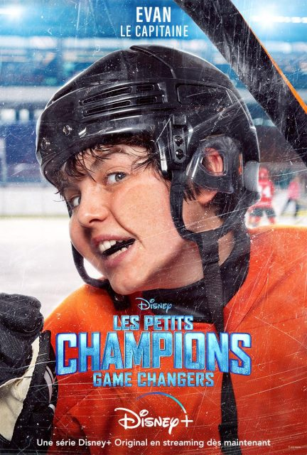 affiche poster petits champions mighty ducks game changer disney