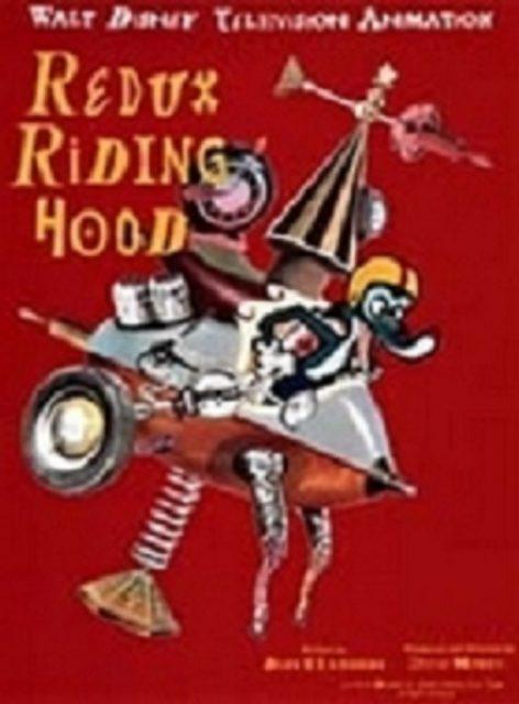 affiche poster redux riding hood disney