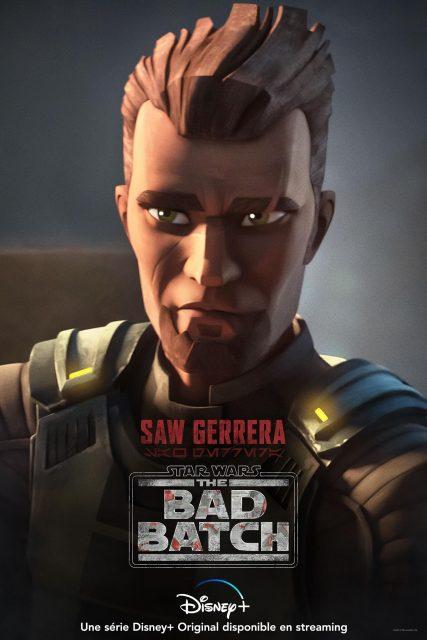 affiche poster star wars bad batch disney